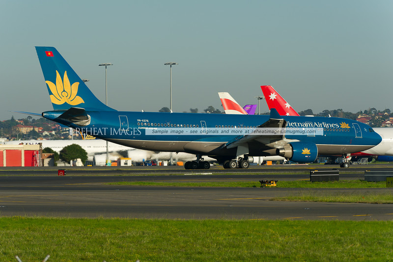 Vietnam Airlines Airbus A330-200 at Sydney airport