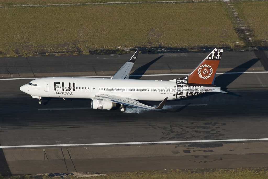 Fiji Airways Boeing 737