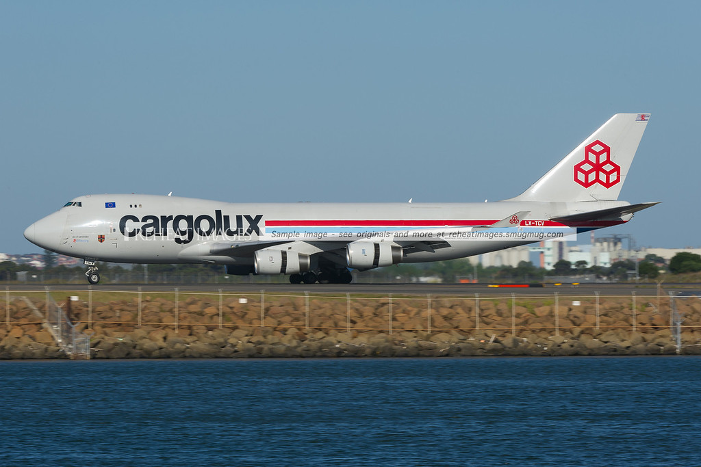 Cargolux now operates regular once a week flights to Sydney airport with Boeing 747 freighter aircraft.