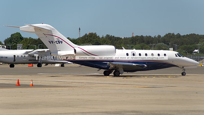 Cessna 750 Citation X departs Sydney airport.
