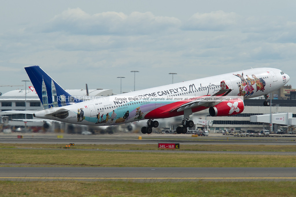 "Air Asia Airbus A330 - ""Now everyone can fly to Malaysia"""