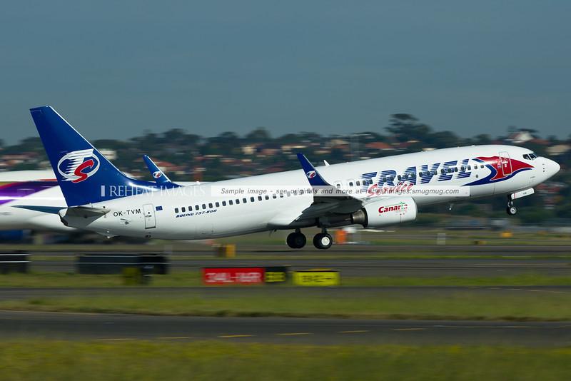 Travel Service Boeing 737-800 OK-TVM