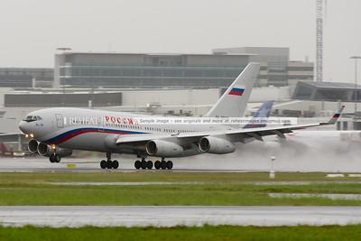 Россия Ил-96-300 (Rossiya IL-96-300) leaves Sydney.