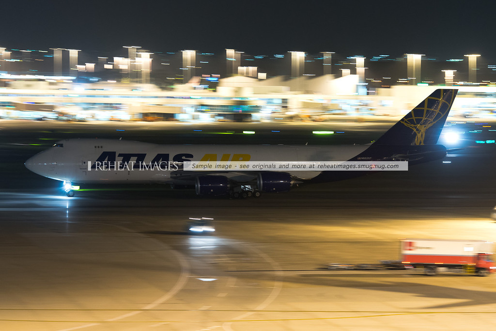 Atlas Air Boeing 747-8F N852GT