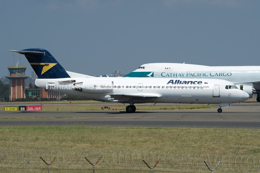 Alliance Airlines Fokker 70 VH-QQY