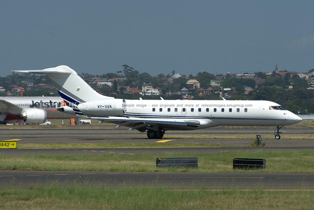 Bombardier Global Express-BD-700-1A10 VH-VGX