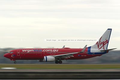 Virgin Blue B737-800 at Sydney airport.