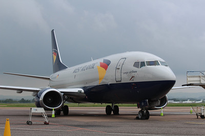 G-JMCO Atlantic Airlines Boeing 737-3T0(SF) cn 23569 @ Exeter Airport / EGTE 30.05.14