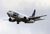 SP-LLE LOT - Polish Airlines Boeing 737-45D cn 27914 @ London Heathrow / EGLL 09.09.16