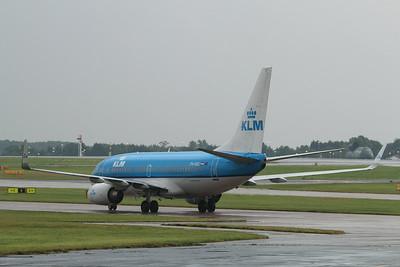 "PH-BGL / GL-208 ""Tjiftjaf/Warbler"" KLM Royal Dutch Airlines Boeing 737-7K2(WL) cn 30369 @ Manchester Airport / EGCC 01.08.14"