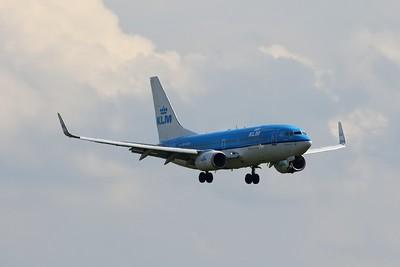 "PH-BGM / GM-209 ""Aalscholver/Cormorant"" KLM Royal Dutch Airlines Boeing 737-7K2(WL) cn 39255 @ Birmingham Airport / EGBB 18.06.16"