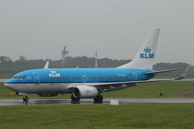 "PH-BGM / GM-209 ""Aalscholver/Cormorant"" KLM Royal Dutch Airlines Boeing 737-7K2(WL) cn 39255 @ Manchester Airport / EGCC 01.08.14"