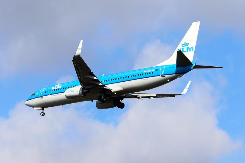 "PH-BXF / XF-306 ""Zwaluw / Swallow"" KLM Royal Dutch Airlines Boeing 737-8K2(WL) cn 29596 @ London Heathrow / EGLL 09.09.16"