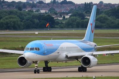 G-BYAW Thomson Airways Boeing 757-204(WL) cn 27234 @ Birmingham Airport / EGBB 18.06.16