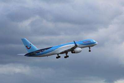 G-OOBN Thomson Airways Boeing 757-2G5(WL) cn 29379 @ Manchester Airport / EGCC 26.04.14