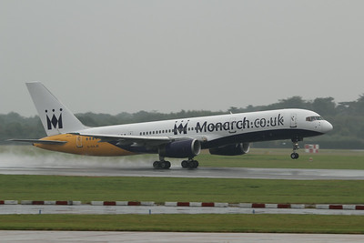 G-DAJB Monarch Airlines Boeing 757-2T7 cn 23770 @ Manchester Airport / EGCC 01.08.14