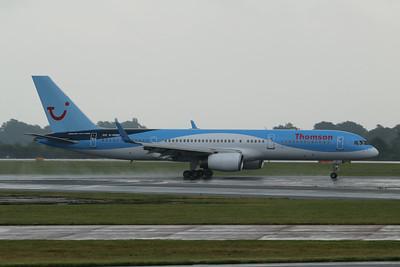 G-OOBD Thomson Airways Boeing 757-28A(WL) cn 33099 @ Manchester Airport / EGCC 01.08.14