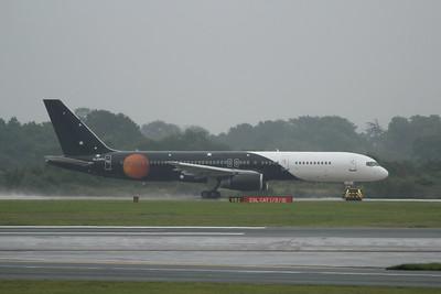 G-ZAPX Titan Airways Boeing 757-256 cn 29309 @ Manchester Airport / EGCC 01.08.14