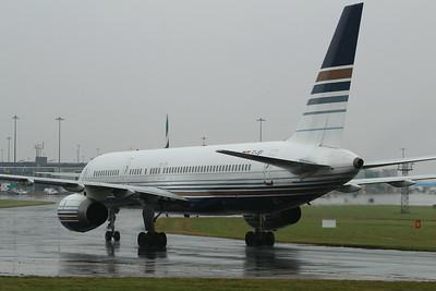 EC-ISY Privilege Style Boeing 757-256 cn 26241 @ Manchester Airport / EGCC 01.08.14