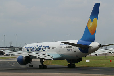G-JMCE Thomas Cook Airlines Boeing 757-25F cn 30758 @ Manchester Airport / EGCC 01.08.14