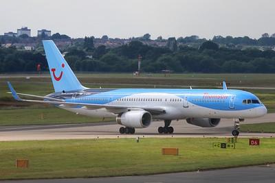 G-OOBH Thomson Airways Boeing 757-236(WL) cn 29944 @ Birmingham Airport / EGBB 18.06.16