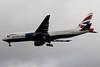 G-YMMH British Airways Boeing 777-236(ER) cn 30309 @ London Heathrow / EGLL 09.09.16