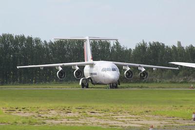 EI-RJW Cityjet British Aerospace Avro RJ85 cn E2371 @ Norwich Airport / EGSH 25.03.13
