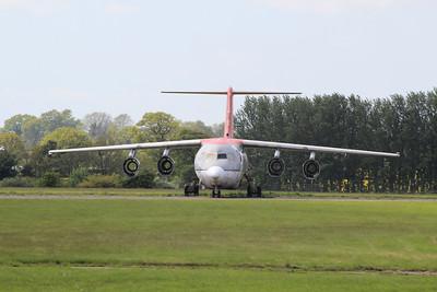 EI-WXB Cityjet British Aerospace Avro RJ85 cn E2311 @ Norwich Airport / EGSH 25.03.13