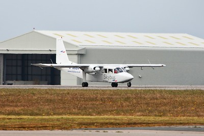G-BUBN Isles of Scilly Skybus Britten-Norman BN-2B cn ? @ Newquay Airport / EGHQ 21.04.16