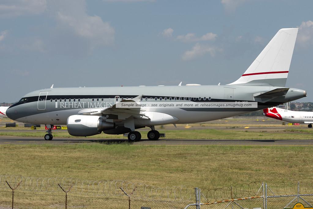 Airbus Corporate Jet A319 P4-MIS