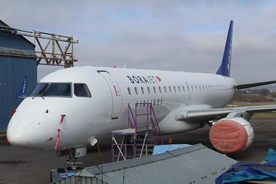 TC-YAN Borajet ERJ-190LR cn 19000367 @ Exeter Airport / EGTE 09.02.15