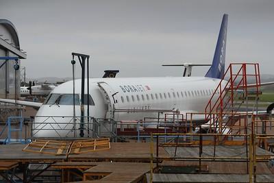 TC-YAG BoraJet Embraer ERJ-190LR cn 19000263 @ Exeter Airport / EGTE 05.01.15
