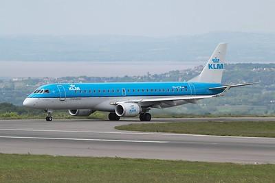 PH-EZV KLM Cityhopper Embraer ERJ-190STD cn 19000528 @ Bristol Airport / EGGD 10.06.15