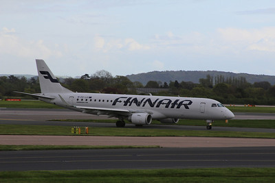 OH-LKI Finnair Embraer ERJ-190LR cn 19000117 @ Manchester Airport / EGCC 26.04.14