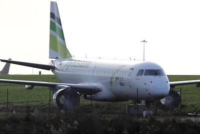 VP-CQW flynas Embraer ERJ-190LR cn 19000232 @ Exeter Airport / EGTE 11.01.15