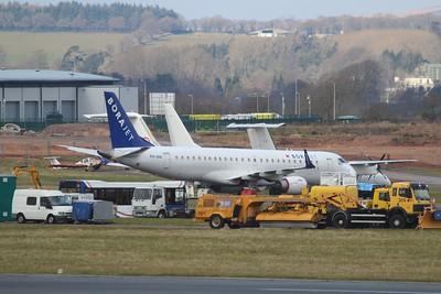 PH-IAM Ex-Borajet Embraer ERJ-190LR cn 19000310 @ Exeter Airport / EGTE 16.03.16