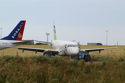 VP-CQW flynas Embraer ERJ-190LR cn 19000232 @ Exeter Airport / EGTE 01.07.14