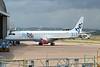 G-FBEK Flybe Embraer ERJ-195LR c/n 19000168 @ Exeter Airport / EGTE 05.07.15