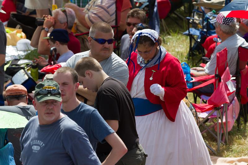 Gettysburg 150th Spectators