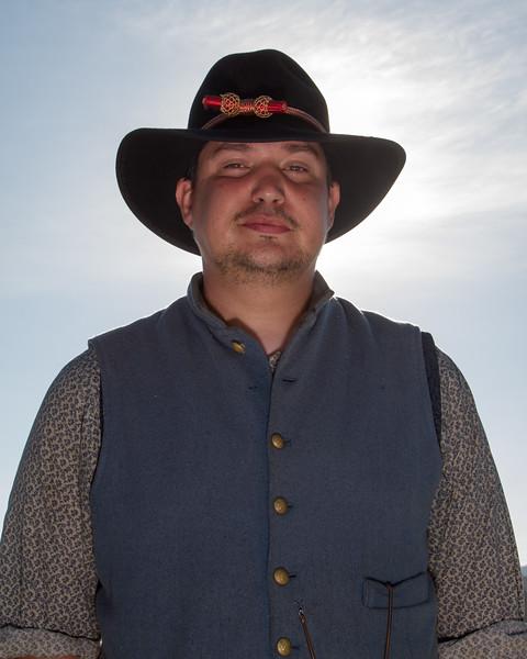 Confederate Camp Portraits
