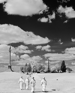 Four Nuns on the Battlefield