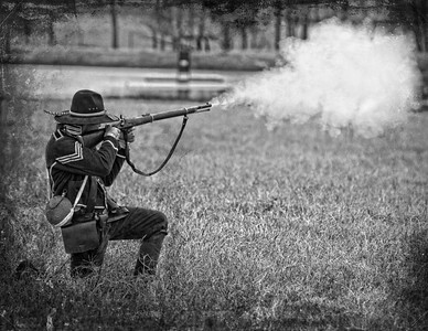 Civil War Reenactment Photography