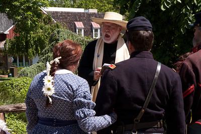 Hazen Civil War Wedding Day