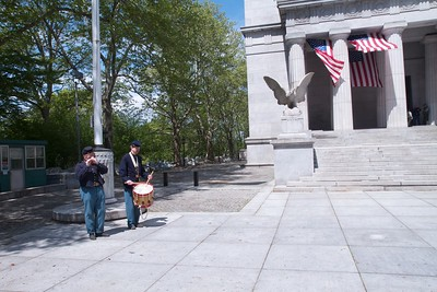 Musicians at Grant's Tomb