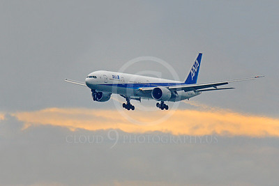 B777 00118 Airbus Boeing 777 ANA All Nippon Airline by Peter J Mancus