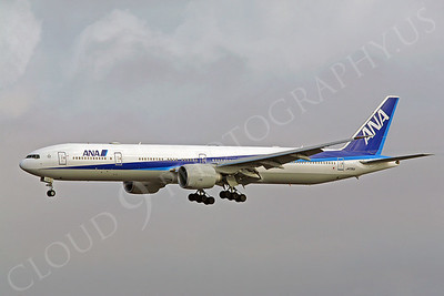 B777 00014 Boeing 777 ANA JA735A by Peter J Mancus