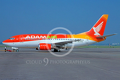 B737 00183 Boeing 737 Adam Air PK-KKA June 2004 via African Aviation Slide Service