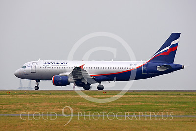 A320 00015 Airbus A320 Aeroflot VP-BWI by Peter J Mancus