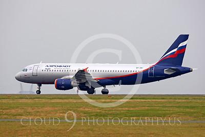 A320 00015 Airbus A320 Aeroflot VP-BWI by Peter J Mancus