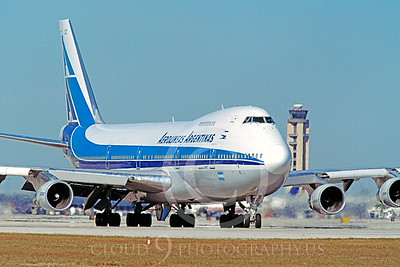 B747 00061 Boeing 747 Aerolineas Argentina March 1999 by Peter J Mancus